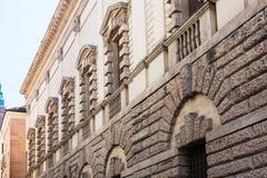 Τοίχος του palazzo Thiene στην πόλη του Βιτσέντσα Στοκ φωτογραφίες με δικαίωμα ελεύθερης χρήσης