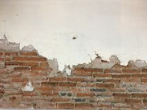 Τοίχος τούβλου grunge Στοκ εικόνες με δικαίωμα ελεύθερης χρήσης