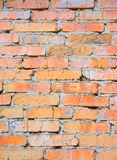 τοίχος τούβλου grunge Στοκ Φωτογραφία