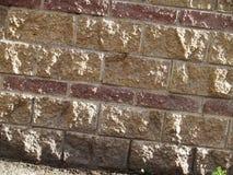 Τοίχος τούβλων Στοκ Φωτογραφίες