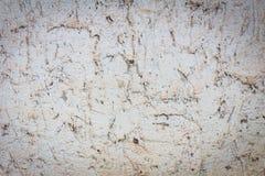 Τοίχος τσιμέντου Grunge με τη σκονισμένη βρώμικη σύσταση Στοκ Φωτογραφίες