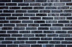 Τοίχος των βερνικωμένων τούβλων Στοκ Φωτογραφίες