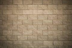 Τοίχος των νέων γκρίζων τούβλων ανασκόπηση αστική τονισμένος Στοκ εικόνα με δικαίωμα ελεύθερης χρήσης