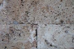 Τοίχος των νέων γκρίζων τούβλων ανασκόπηση αστική Στοκ εικόνα με δικαίωμα ελεύθερης χρήσης