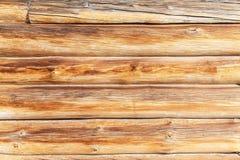 Τοίχος των παλαιών κούτσουρων Στοκ Εικόνα