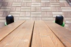 Τοίχος των σκοτεινών ξύλινων σανίδων Στοκ φωτογραφίες με δικαίωμα ελεύθερης χρήσης