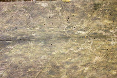 Τοίχος των σκοτεινών ξύλινων σανίδων Στοκ φωτογραφία με δικαίωμα ελεύθερης χρήσης