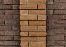 Τοίχος των τούβλων, υπόβαθρο των τούβλων στοκ εικόνα με δικαίωμα ελεύθερης χρήσης