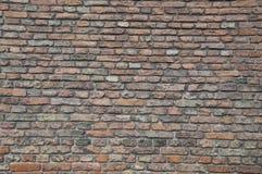 Τοίχος των τούβλων Στοκ Εικόνες