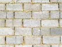 Τοίχος των φραγμών τούβλου Στοκ Εικόνες