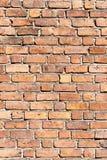 Τοίχος των χρωματισμένων τούβλων Στοκ εικόνες με δικαίωμα ελεύθερης χρήσης