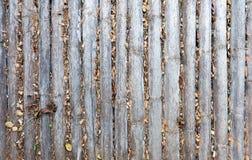 Τοίχος φιαγμένος από εκλεκτής ποιότητας φράκτη μπαμπού στοκ εικόνες
