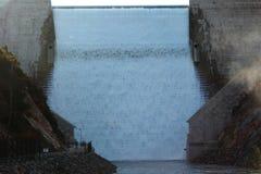 Τοίχος φραγμάτων σφηνών Στοκ Εικόνα
