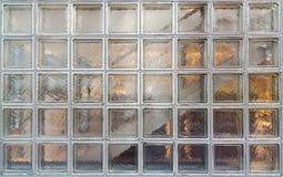 Τοίχος φραγμών γυαλιού Στοκ φωτογραφία με δικαίωμα ελεύθερης χρήσης