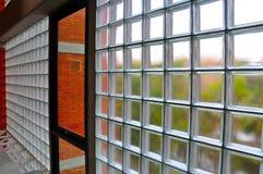Τοίχος φραγμών γυαλιού στοκ εικόνες με δικαίωμα ελεύθερης χρήσης