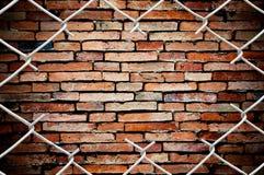 τοίχος φραγών στοκ εικόνα