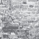 Τοίχος φρουρίων γκρίζος Στοκ Εικόνες