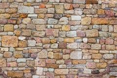 Τοίχος 2 φρουρίων τούβλου στοκ φωτογραφίες