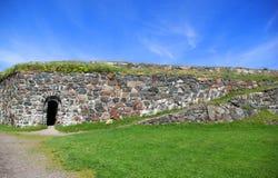 τοίχος φρουρίων Στοκ φωτογραφία με δικαίωμα ελεύθερης χρήσης