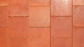 Τοίχος χάλυβα Corten Στοκ Εικόνες