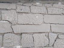 Τοίχος χιονιού Στοκ Φωτογραφία