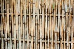 τοίχος χρήσης μπαμπού ανασκόπησης Στοκ φωτογραφίες με δικαίωμα ελεύθερης χρήσης