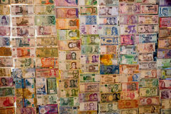 Τοίχος χρημάτων Στοκ Φωτογραφία
