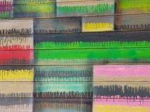 Τοίχος χρώματος στοκ φωτογραφία