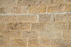 τοίχος ψαμμίτη Στοκ Φωτογραφίες