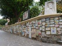 Τοίχος Alassio στοκ φωτογραφίες