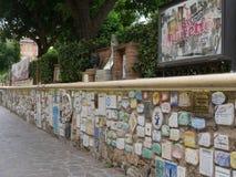 Τοίχος Alassio στοκ εικόνες