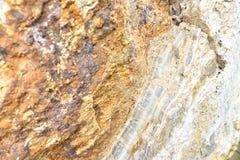 Τοίχος Aragonite στη φύση, πρώτη ύλη Στοκ φωτογραφίες με δικαίωμα ελεύθερης χρήσης
