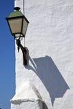 Τοίχος arrecife teguise Lanzarote Ισπανία μπλε ουρανού Στοκ φωτογραφία με δικαίωμα ελεύθερης χρήσης