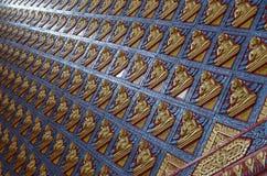 Τοίχος Buddhas Στοκ φωτογραφίες με δικαίωμα ελεύθερης χρήσης