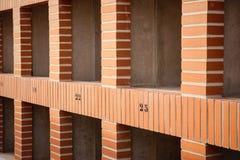Τοίχος Cemetry Στοκ φωτογραφία με δικαίωμα ελεύθερης χρήσης