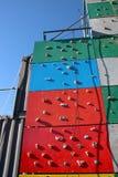 Τοίχος Climbimg βράχου στοκ φωτογραφία με δικαίωμα ελεύθερης χρήσης