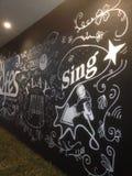 τοίχος disegn Στοκ Εικόνα