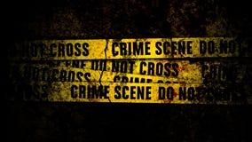 Τοίχος Grunge με τις γραμμές και τη σύσταση σκηνών εγκλήματος διανυσματική απεικόνιση