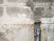 Τοίχος Grunge του παλαιού σπιτιού ανασκόπηση κατασκευασμένη Στοκ Εικόνες
