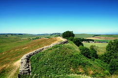 Τοίχος Hadrians, Northumberland στοκ εικόνα με δικαίωμα ελεύθερης χρήσης