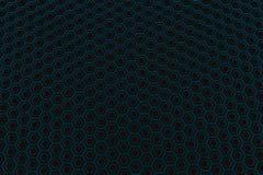Τοίχος hexagons πυράκτωσης Στοκ Εικόνα