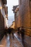 Τοίχος Inca από Plaza de Armas σε Cusco, Περού Στοκ φωτογραφία με δικαίωμα ελεύθερης χρήσης