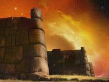 Τοίχος Inca στοκ εικόνα