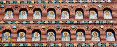 Τοίχος IV εκκλησιών Στοκ φωτογραφίες με δικαίωμα ελεύθερης χρήσης