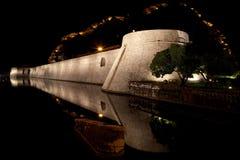τοίχος kotor Στοκ Φωτογραφίες