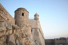 Τοίχος Peniscola Στοκ Εικόνες