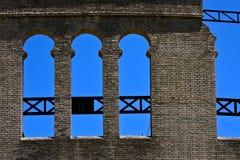 Τοίχος plaza de toros Στοκ Εικόνες