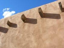 τοίχος pueblo στοκ φωτογραφία με δικαίωμα ελεύθερης χρήσης