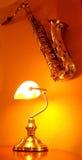 τοίχος saxophone Στοκ φωτογραφίες με δικαίωμα ελεύθερης χρήσης