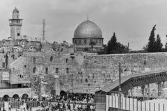 Τοίχος Wailing και μουσουλμανικό τέμενος aqsa Al Στοκ φωτογραφίες με δικαίωμα ελεύθερης χρήσης